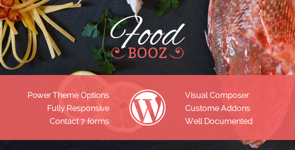 FoodBooz Minimal WordPress Restaurant & Cafe Theme            TFx Ryder Stanislas