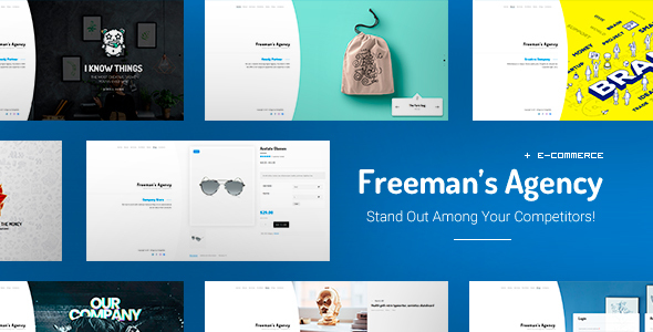Freeman - Creative WordPress Theme for Agencies            TFx Aydan Liam