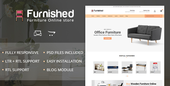 Furnished - OpenCart Responsive Theme - Miscellaneous OpenCart TFx Dorian Milford