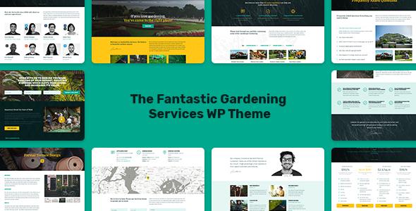 Gardeneer - The Gardening Services WordPress Theme - Business Corporate TFx Mikey Ben