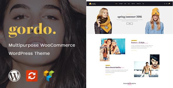 Gordo - Fashion Responsive WooCommerce WordPress Theme - WooCommerce eCommerce TFx Lindy Jeptha