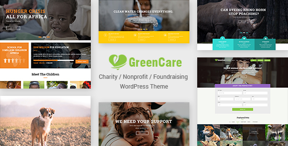 GreenCare | All-in-one WordPress Theme For Charity And Nonprofit            TFx Floyd Vedastus