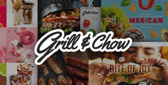 Grill and Chow - A Fast Food, Pizza, and Diner Theme            TFx Hayden Raymond