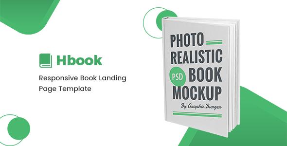 Hbook - Responsive Book Landing Page Template            TFx Ketut Shannon