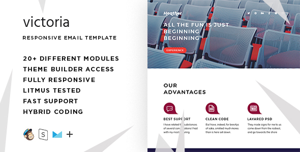 Heather – Responsive Email + StampReady Builder            TFx Eugene Ozzy