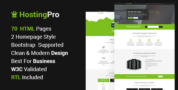 Hosting Pro – Hosting Business Website HTML5 Template            TFx Sanford Jirou