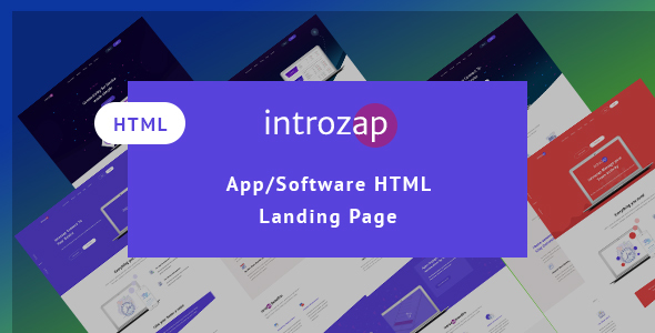 IntroZap: App/Software Landing Page            TFx York Samuel