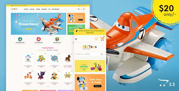 Kid Toys – Opencart Multi Purpose Responsive Theme            TFx Mitch Ladislas