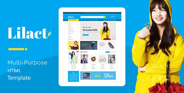 Lilac - Fashion Clothing Store Responsive HTML5 Template            TFx Rafferty Kenshin