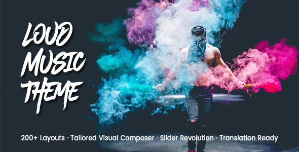 Loud - A Modern WordPress Theme for the Music Industry            TFx Sanford Ryouichi