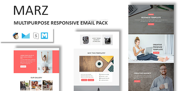 Marz – Multipurpose Responsive Email Template With StampReady Builder Access            TFx Geffrey Willoughby