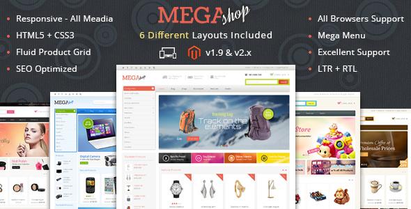 Mega Shop - Responsive Magento 1 & 2 Theme            TFx Grady Agus