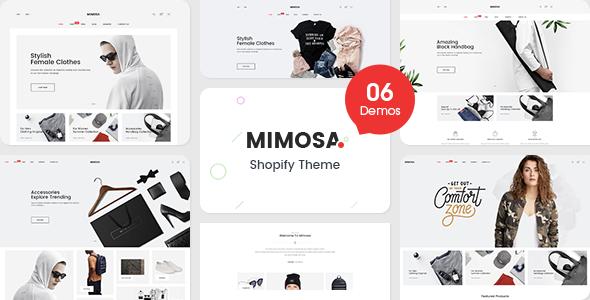 Mimosa - Responsive Fashion Shopify Theme            TFx Esmé Derryl