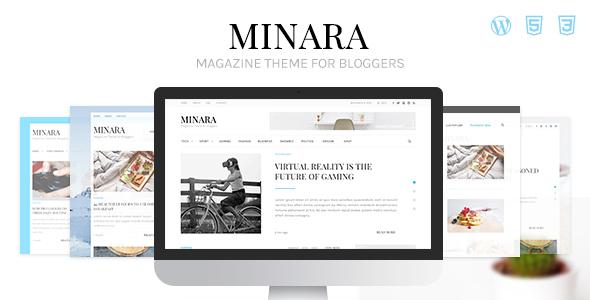 Minara - WordPress Magazine Theme for Bloggers            TFx Kelly Rube
