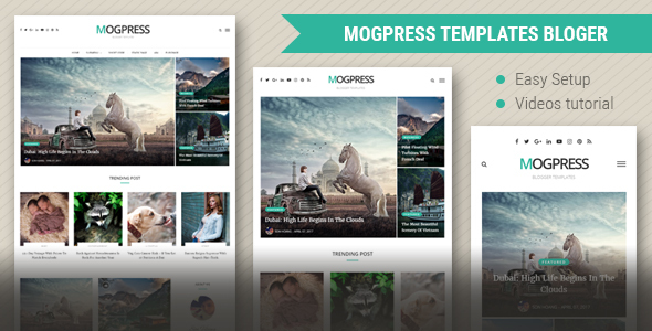 Mogtemplates – MogPress Template For Blogger – Blogger Blogging TFx Alexis Aurangzeb