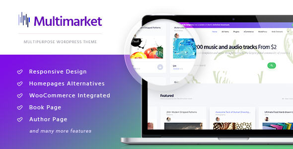 Multimarket - WooCommerce Marketplace Theme - WooCommerce eCommerce TFx Leland Travis