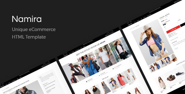 Namira | Unique eCommerce HTML Template            TFx Westley Hugo