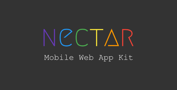 Nectar - Mobile Web App Kit - Mobile Site Templates TFx Gregg Paulie