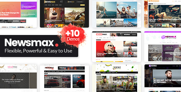 Newsmax - Multi-Purpose News & Magazine Theme            TFx Kenji Neal