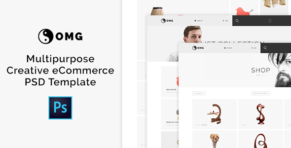 OMG - Multipurpose Creative eCommerce PSD Template            TFx Tully Garnett