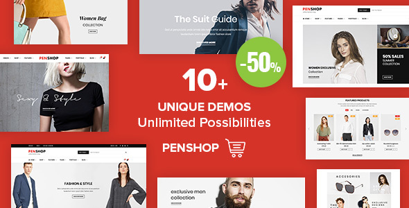 PenShop - Multi-Purpose eCommerce WordPress Theme            TFx Tuowei Pace