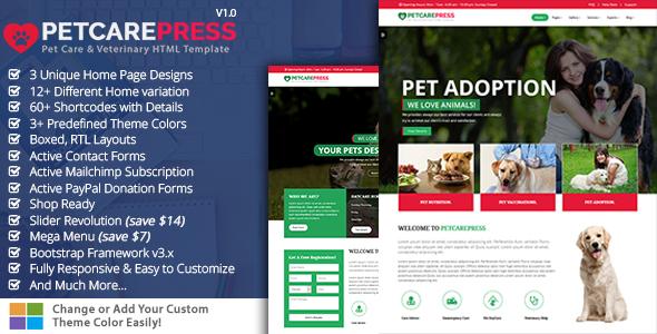 Pet Grooming, Pet Sitter, Veterinary Shop - Pet Care Press            TFx Rokurou Kian