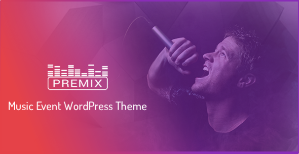 Premix - Music Event WordpPress Theme - Music and Bands Entertainment TFx Ricky Noburu