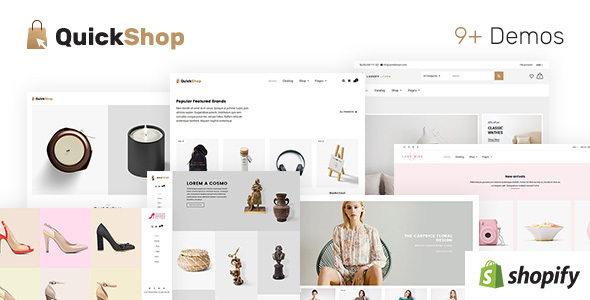 Quick Shop | Multi – Purpose Shopify Theme            TFx Chad Lake