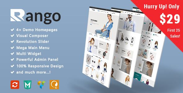 Rango - Fashion Responsive WooCommerce WordPress Theme            TFx Kelley Harlow
