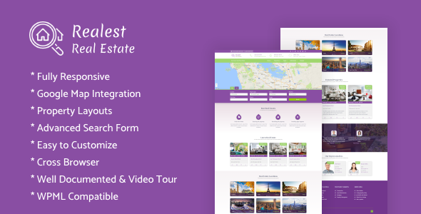 Realest – Real Estate WordPress Theme            TFx Read Maddox