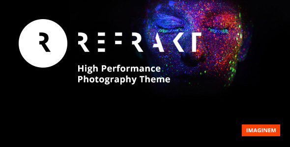 Refrakt | High Performance Photography Theme            TFx Martial Vern