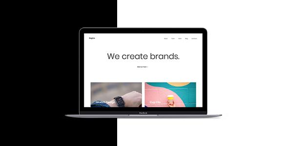 Regina - Creative Agency HTML Template            TFx Taegan Kenji