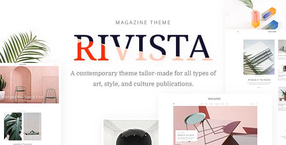 Rivista - Art, Lifestyle and Culture Magazine            TFx Arata Putra