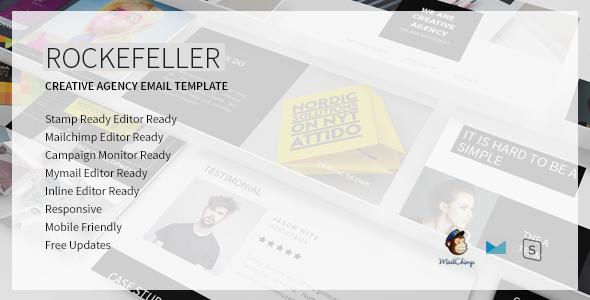 Rockefeller Creative Email Template            TFx Ahtahkakoop Emil
