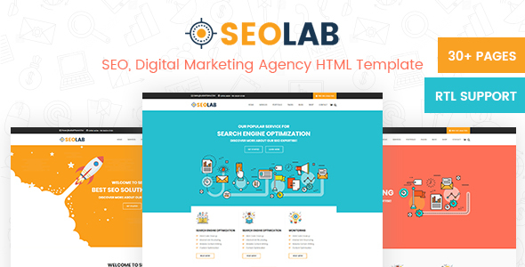 SeoLab- SEO & Digital Marketing Agency HTML Template            TFx Wibowo Parris