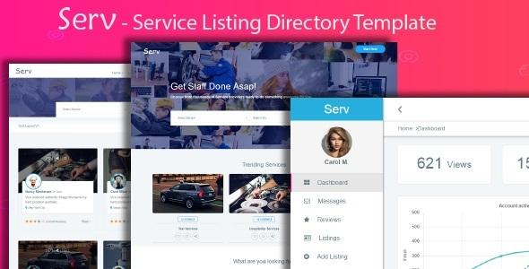 Serv - Services Listing Directory Template            TFx Glanville Willard