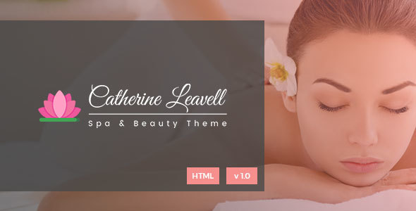 Spa - Spa and Beauty Salon Landing Page - Health & Beauty Retail TFx Jeremy Mike