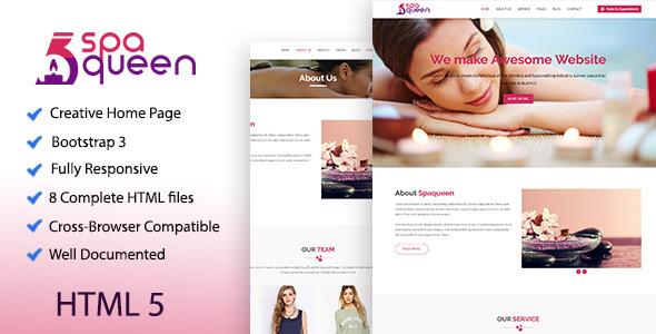 Spaqueen - Health & Beauty Template - Health & Beauty Retail TFx Dawson Kusuma