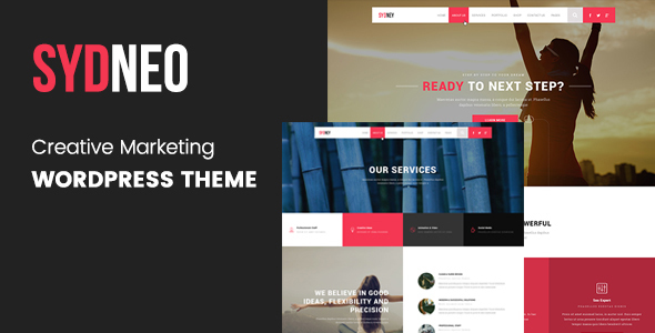 Sydneo - Creative Marketing WordPress Theme            TFx Hovik Braxton
