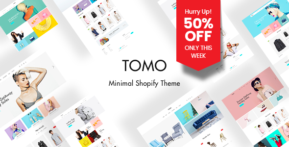 TOMO - Elegant Layout Builder Shopify Theme - Fashion Shopify TFx Yancy Orval
