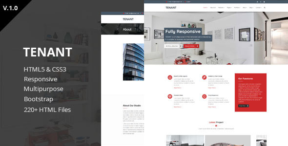 Tenant - Multipurpose HTML5 Template            TFx Dylan Timmy