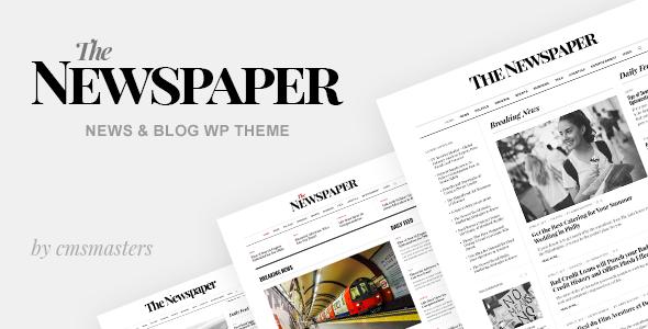 The Newspaper - News Magazine Editorial WordPress Theme - News / Editorial Blog / Magazine TFx Ronny Chet