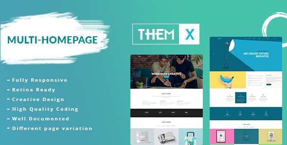 Themx – Responsive Multi-Purpose HTML Template            TFx Charley Giles