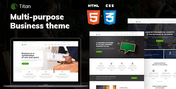 Titan – Business HTML5 Template            TFx Kenneth Micheal