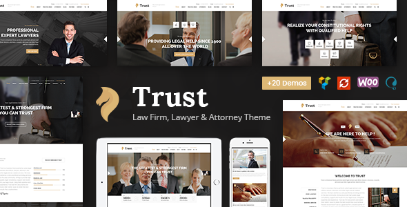 Trust Business - Lawyer and Attorney WordPress Theme            TFx Willie Willoughby