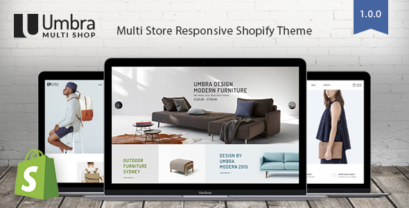 Umbra – Multi Store Responsive Shopify Theme            TFx Kian Ovid