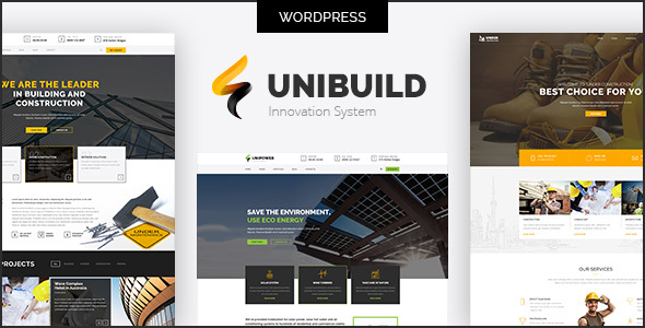 Unibuild | Technology Companies and Business WordPress Theme            TFx Conor Murphy
