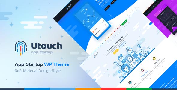 Utouch - Startup Business and Digital Technology WordPress Theme            TFx Kichiro Braeden