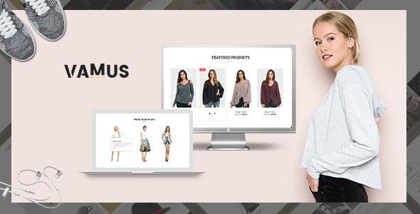Vamus – Mutilpurpose eCommerce HTML Template            TFx Kichirou Cullen