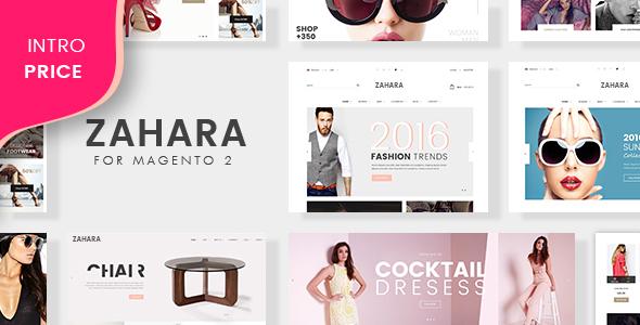 Zahara - Multiuse E-Commerce Magento 2 Theme - Magento eCommerce TFx Shichiro Hasan